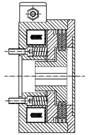 Многодисковый пружинный тормоз LMOBA1