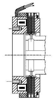Многодисковый электромагнитный тормоз LCBW30