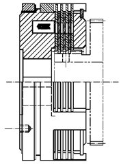 Многодисковая муфта LCW-S30s1