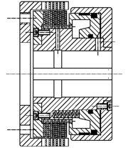Многодисковая муфта HLW80