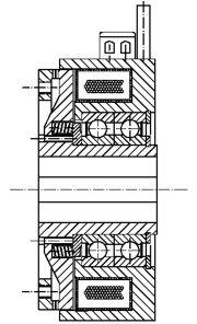 Зубчатые электромагнитные  муфты с пружинным замыканием FOZ5